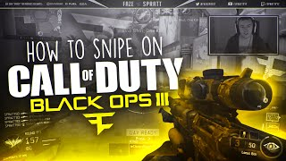 How to Snipe on Black Ops 3 with FaZe Spratt