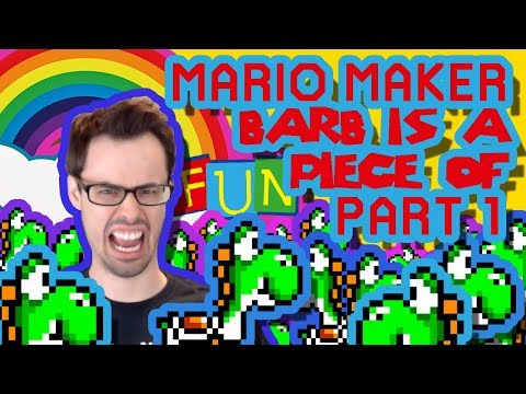 Mario Maker - Carl's Yoshi Barbecue (Lots o' Science) (Help Me) [Part 1]