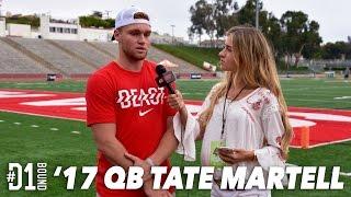 Tate Martell Elite 11 Finals Interview: #D1Bound Reporter Alexa Shaw - CollegeLevelAthletes.com