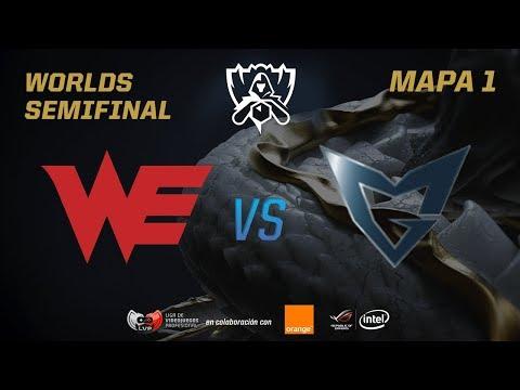 TEAM WE VS SAMSUNG GALAXY - SEMIFINAL - WORLDS 2017 - MAPA 1