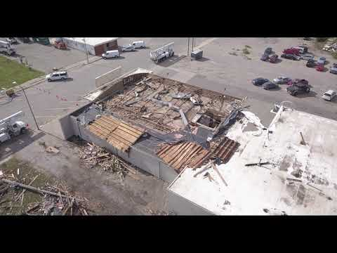 Marshalltown Iowa Tornado Drone Video 2018