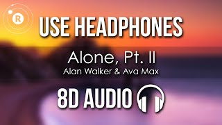 Download Mp3 Alan Walker, Ava Max - Alone, Pt. Ii  8d Audio