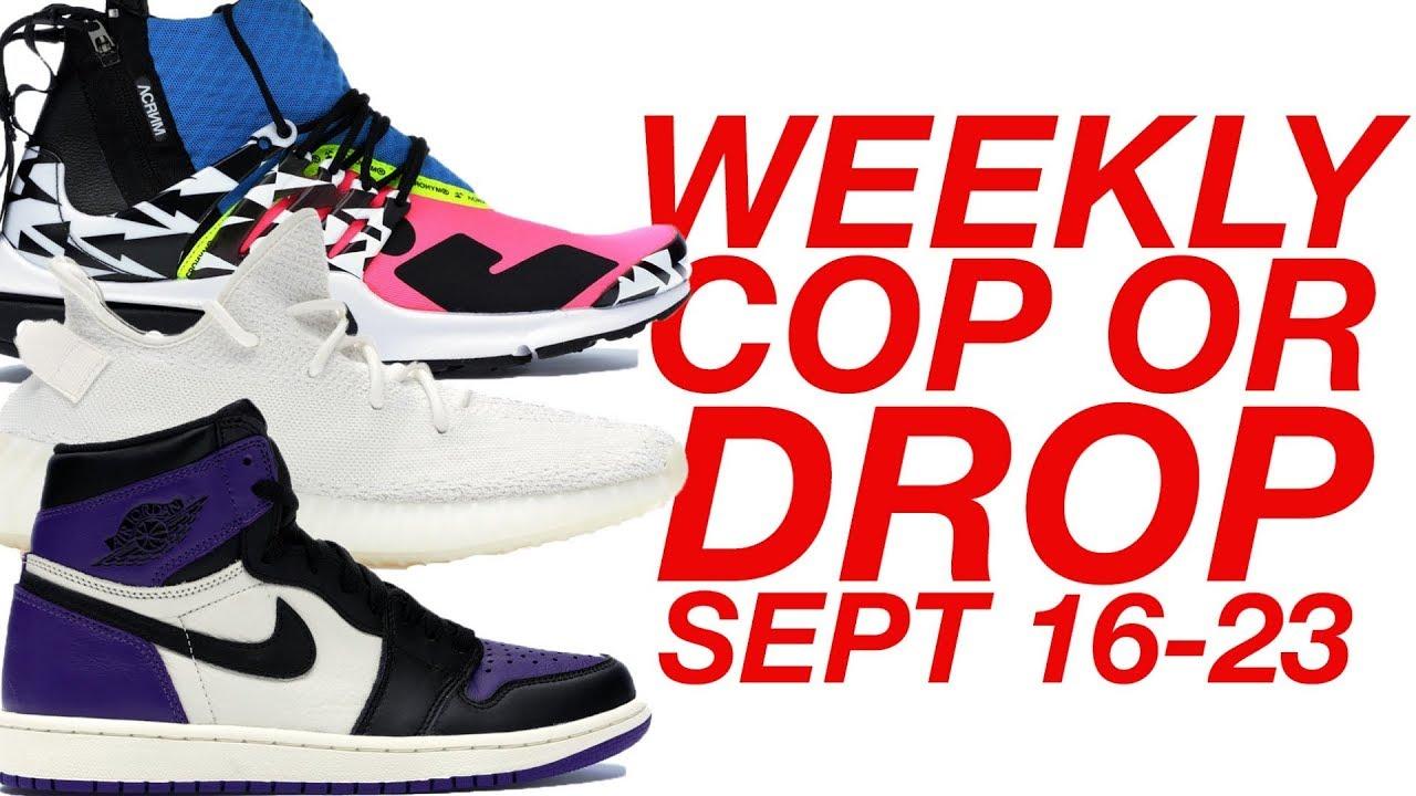 400626a5f583 WEEKLY COP OR DROP  SEPT 16-23  (Nike Presto x Acronym