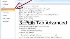 Cara menghilangkan Bekas File yg telah di buka
