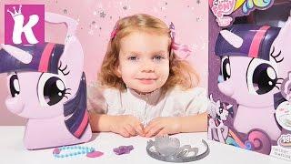 MLP My Little Pony Twilight Sparkle Кейс принцессы Май Литл Пони игры для девочек