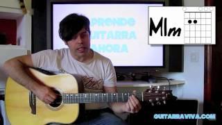 APRENDE GUITARRA LECCION 2 - NIVEL BASICO - ESCUELA DE GUITARRA GRATIS curso  guitarra principiantes thumbnail