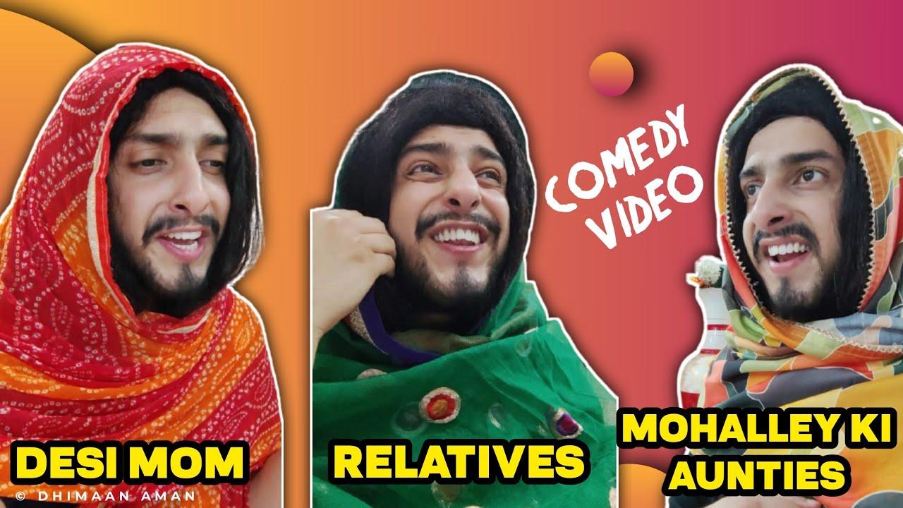 Download Desi Mom Comedy video 😂 | Sanyam Pandoh dogri comedy videos compilation | Sam's Production Jammu