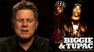BIGGIE AND TUPAC review - BLIND FILM CRITIC (no spoilers)