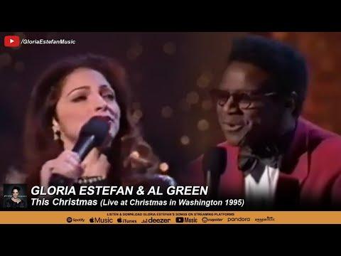Gloria Estefan & Al Green - This Christmas (Christmas in Washington 1995)