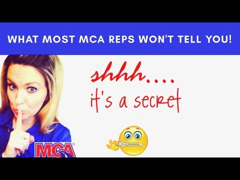 Your MCA Motor Club of America Sponsor Will NOT Tell You This: The BIG Secret!