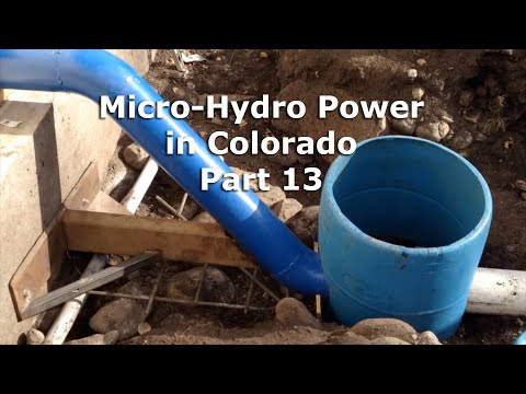 Part 13 MicroHydro Power System in CO TESTING