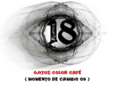 musica 18 kilates ojitos color cafe