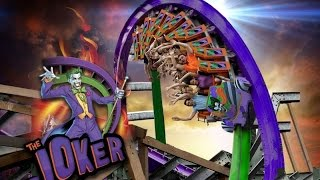 The Joker Six Flags Discovery Kingdom 2016 POV/Off-Ride Animation