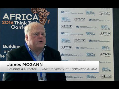 James MCGANN - Africa Think Tank Conference 2016