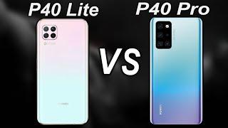huawei P40 Pro Vs Huawei P40 Lite Comparison