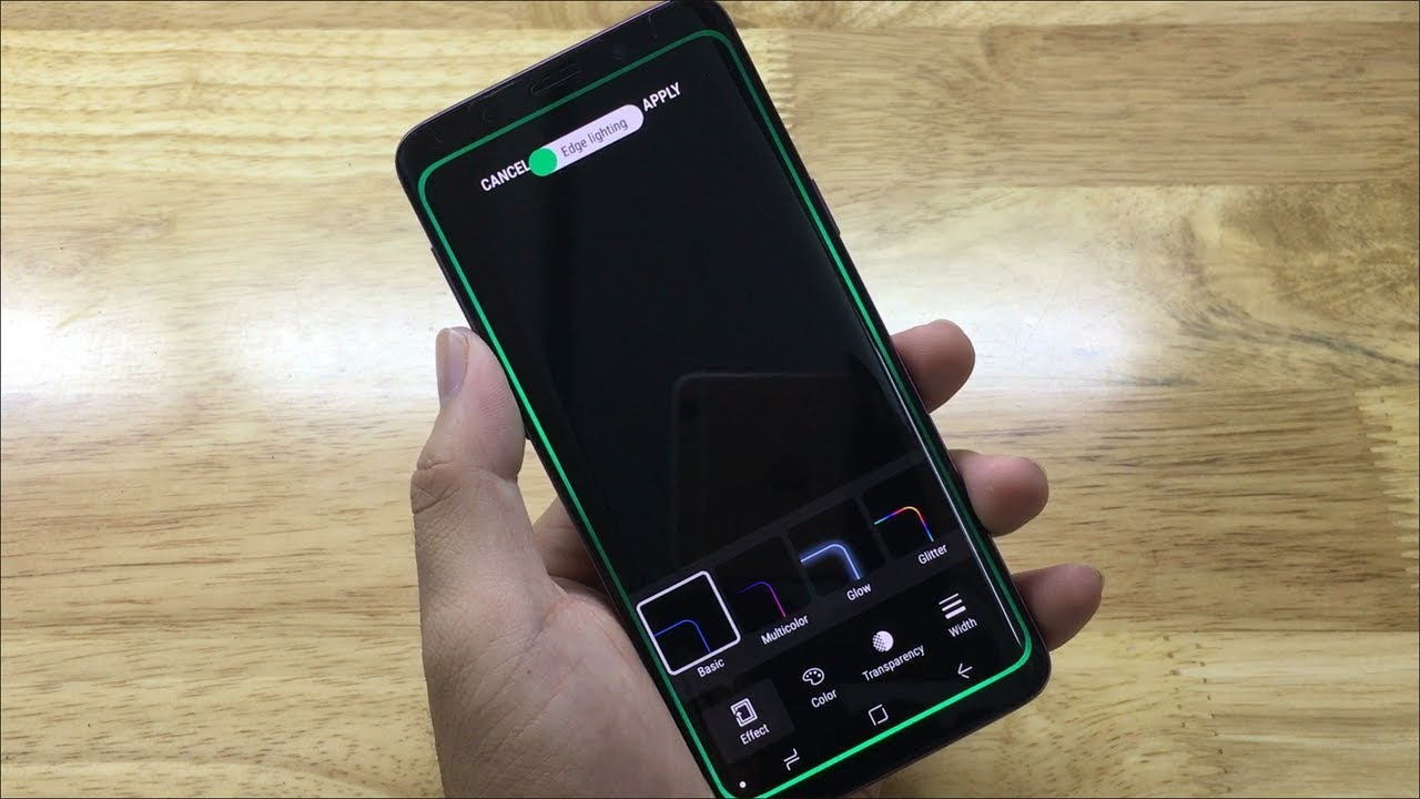 How to set Edge Lighting notifications for Samsung Galaxy S9