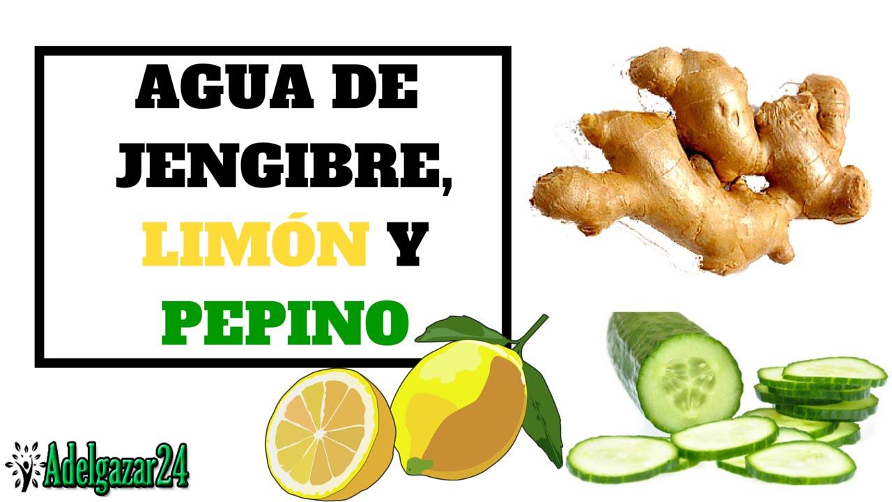 perder peso con limon y jengibre