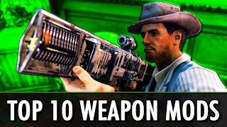 FALLOUT 4: TOP 10 WEAPON MODS [PC + XBOX ONE]