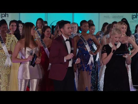Miss Universe Evening Gown Preliminary Competition | LIVE 11-25-17