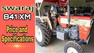 स्वराज ट्रैक्टर 841 XM की पूरी जानकारी  | Tractor Swaraj 841 XM full information and price 2018