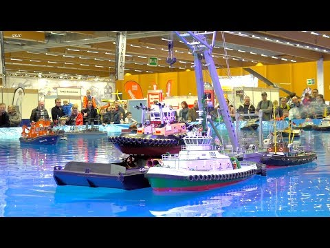 FANTASTIC RC MODEL SCALE SPECIAL SHIPS IN MOTION! HORRIBLE FIRE ON OFFSHORE BOAT!