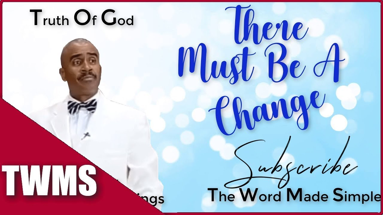 Apostle Gino Jennings - Holy and Unholy | Clean and Unclean