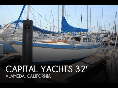[UNAVAILABLE] Used 1985 Capital Yachts Gulf 320 Pilothouse Sloop in Alameda, California