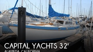 Used 1985 Capital Yachts Gulf 320 Pilothouse Sloop For Sale In Alameda, California