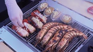 A Rooftop Seafood Party by a Man Who Cooks for Fun
