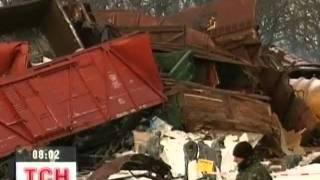 В Сумской области ушел под откос грузовой поезд thumbnail