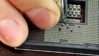 cpu socket pins repair z97 g45 lga 1150 2