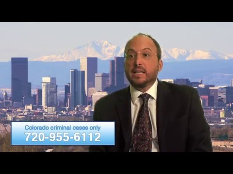 Denver Colorado Criminal Defense Lawyer