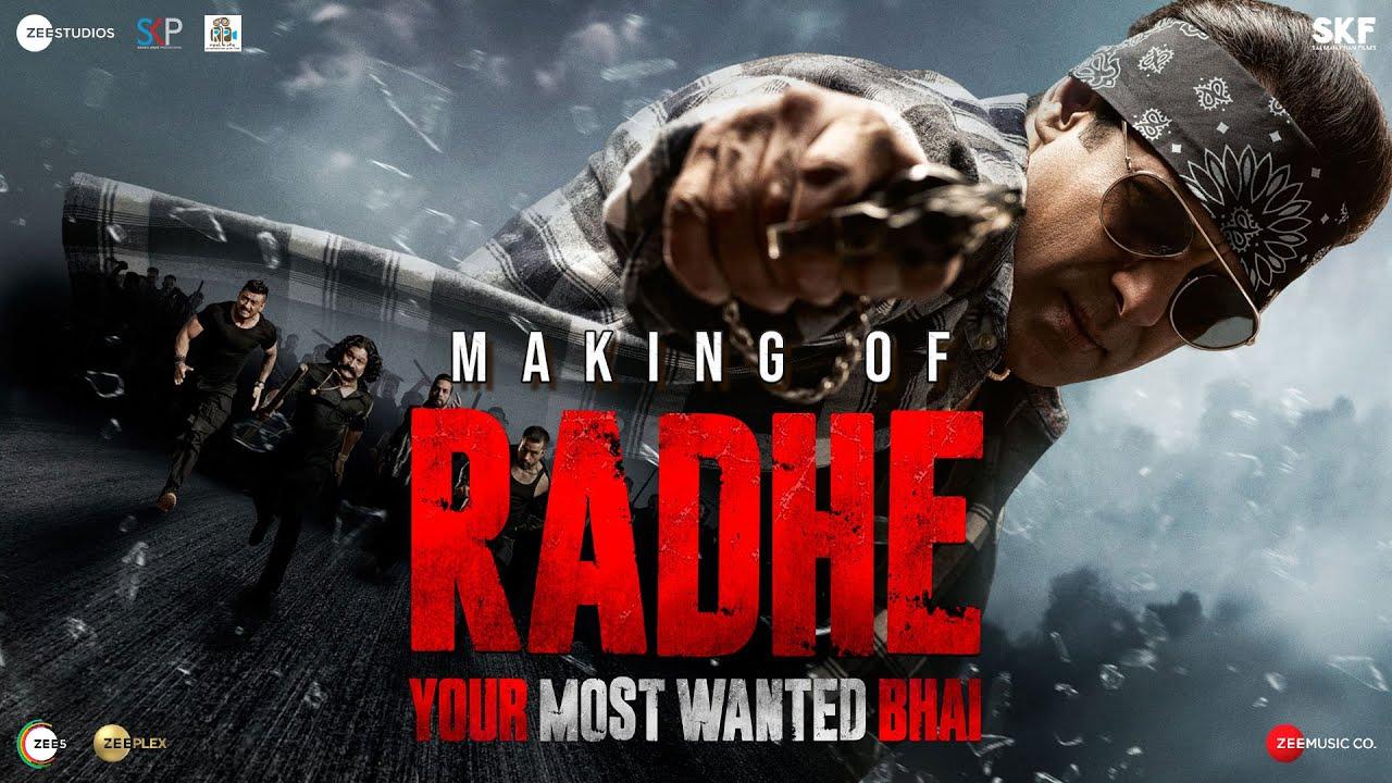 Full Making of Radhe: Your Most Wanted Bhai | Salman Khan | Jackie Shroff,Randeep Hooda |Prabhu Deva