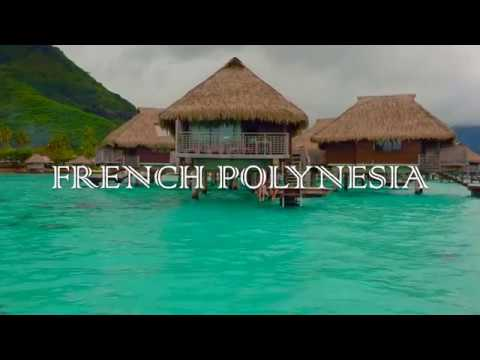 French Polynesia, Moorea and Tahiti, January 2018