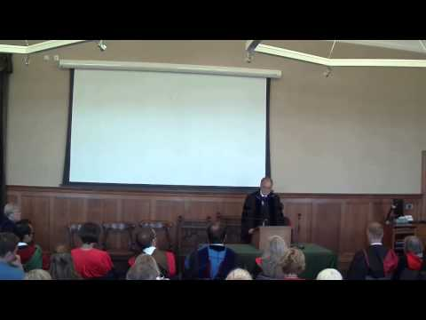 Opening Lecture by Emeritus Professor Larry Hurtado 2014