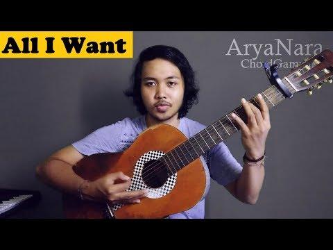 Chord Gampang (All I Want - Kodaline) By Arya Nara (Tutorial Gitar)