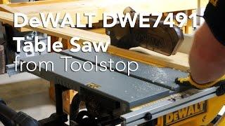 Dewalt Dwe7491 Table Saw 250mm With 825mm Rip Capacity