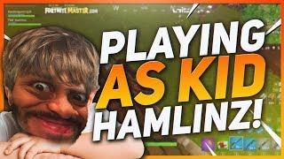 TSM Hamlinz - PRETENDING TO BE A KID IN RANDOM DUOS! 15 KILL WIN (Fortnite BR Full Game)