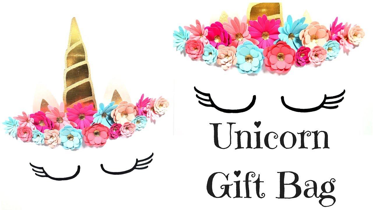 Unicorn gift bag video tutorial youtube unicorn gift bag video tutorial maxwellsz