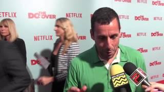 Adam Sandler Interview: 'The Do Over' Movie Premiere Los Angeles