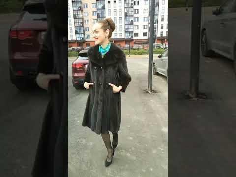 Продаётся НОВАЯ норковая шуба с шикарным мехом (МОСКВА)