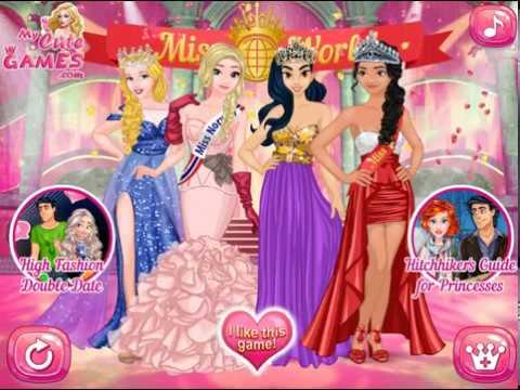 игры конкурс красоты принцесс