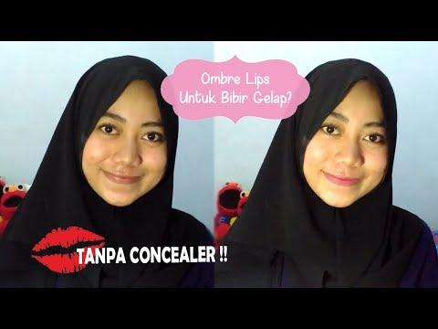 tutorial-ombre-lips-untuk-bibir-gelap-tanpa-concealer-|-erin-astriwi