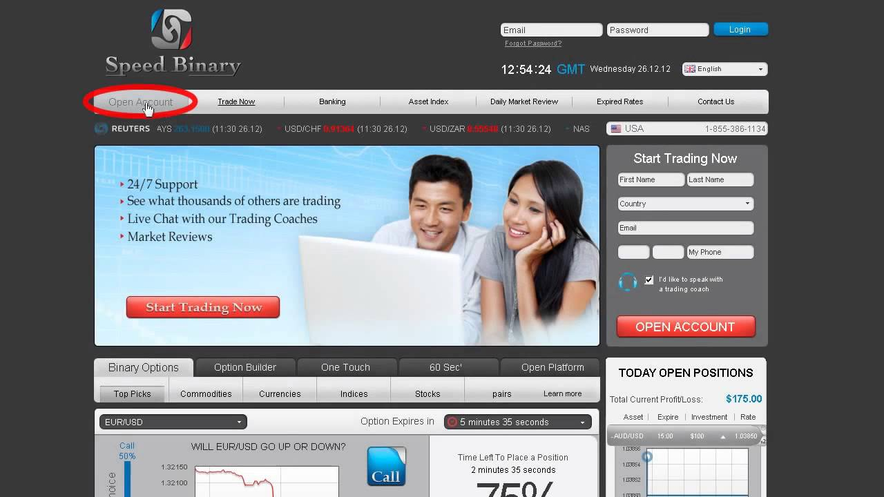 60 second binary options brokers demo