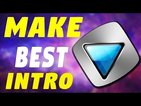 How To Make An Intro For YouTube Videos With Sony Vegas  2016