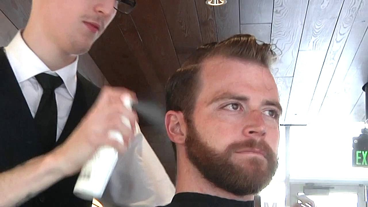 Mens haircut newtown