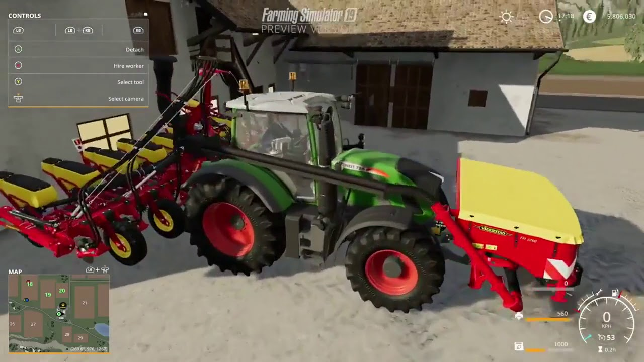 farming simulator 19 sound physics gamescom 2018 youtube. Black Bedroom Furniture Sets. Home Design Ideas