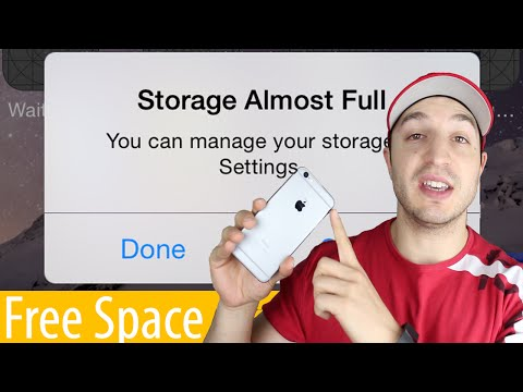 How To Manage Storage and Free Up Space On The iPhone, iPad & iPod Touch