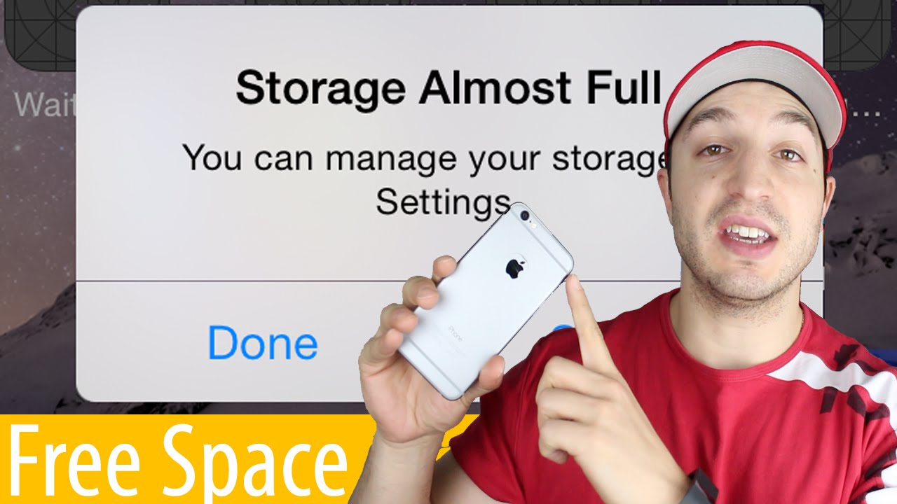 How To Manage Storage And Free Up E On The Iphone Ipad Ipod Touch You