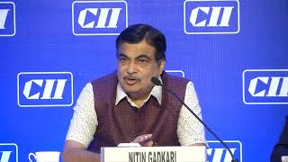 Addressing the National Council of CII